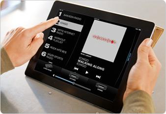 SoundTouch App am iPad